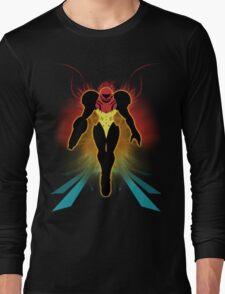 Super Smash Bros. Samus Silhouette Long Sleeve T-Shirt
