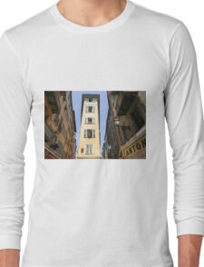 Vieux Nice, Old Town, Nice, France Long Sleeve T-Shirt