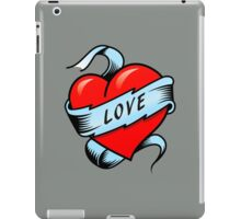 Tattoo Heart iPad Case/Skin
