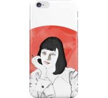 Mia Pulp Fiction iPhone Case/Skin