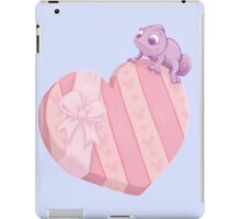 Valentines Chameleon  iPad Case/Skin