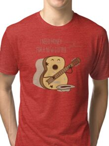 NEW GUITAR Tri-blend T-Shirt