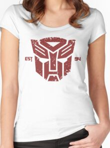 Legendary Autobots Women's Fitted Scoop T-Shirt