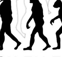 Dab evolution Sticker
