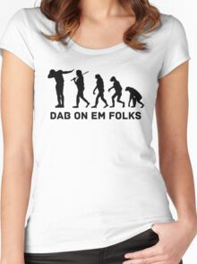 Dab evolution Women's Fitted Scoop T-Shirt