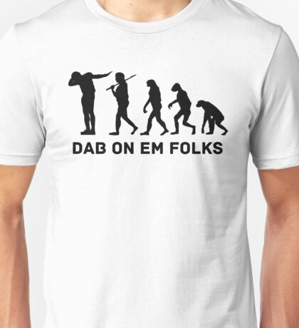 Dab evolution Unisex T-Shirt