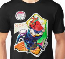 Straight-lined Valentine lover Trafalgar Law from One Piece Unisex T-Shirt