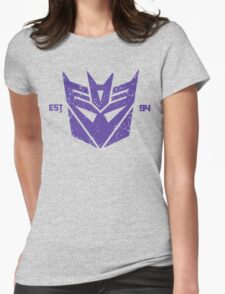 Legendary Decepticons Womens Fitted T-Shirt