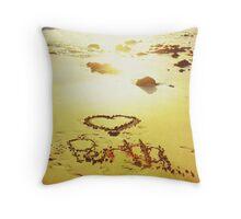 Love Perth, Sunset  Throw Pillow