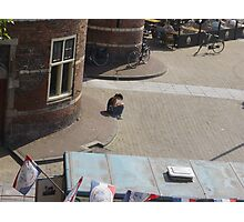 A soul in Amsterdam Photographic Print