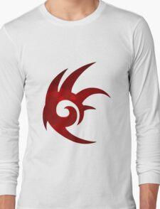 Shadow the Hedgehog Logo  Long Sleeve T-Shirt
