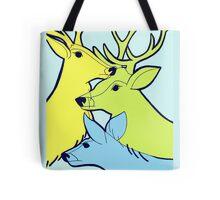 Pastel Deer Tote Bag