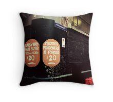 Degraves lane Melbourne Throw Pillow