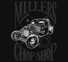 Millers Chop Shop 1946 Chevy Pickup Rat Rod by YoPedro