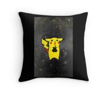 Pikachu + Apple = Friends Throw Pillow