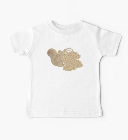 chip! brown Baby Tee