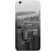 New York Black and White, Empire State Building Views iPhone Case/Skin
