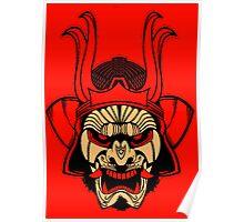 Samurai-K - Poster Print Poster