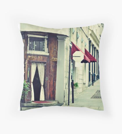 Old City Montreal 3 Throw Pillow