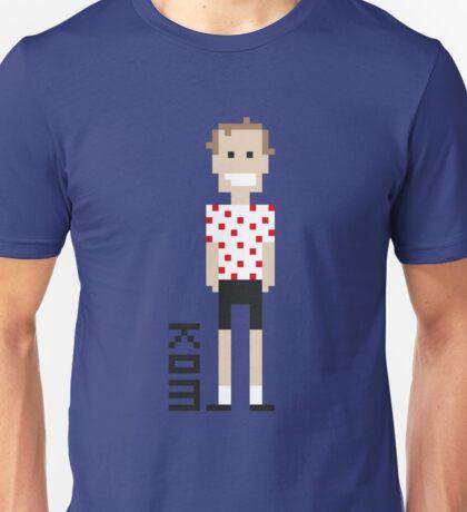 Pixel Peloton - KOM Unisex T-Shirt