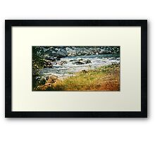 Clear Creek Framed Print