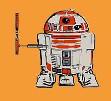 R2D2 MICHELANGELO by greatbritton99