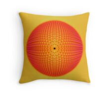 Citrus Sphere Throw Pillow