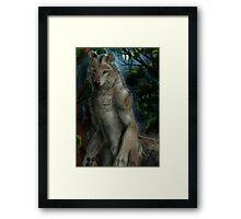 mexican werewolf Framed Print