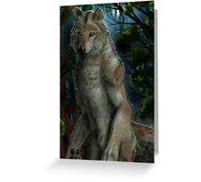 mexican werewolf Greeting Card