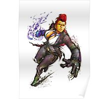 "Crimson Viper ""Street Fighter"" Poster"