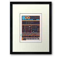 Synth Framed Print