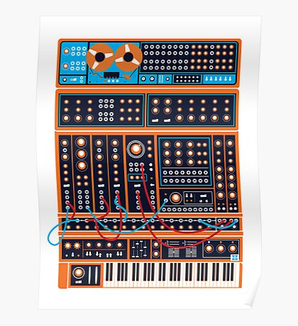 Synth Poster