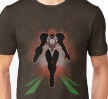 Super Smash Bros. Brown/Dark Suit Samus Silhouette Unisex T-Shirt