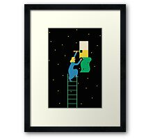 Behind the Stars Framed Print