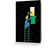 Behind the Stars Greeting Card