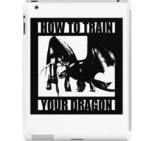 How to train your dragon toothless iPad Case/Skin