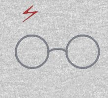 Harry Potter Scar & Glasses One Piece - Long Sleeve