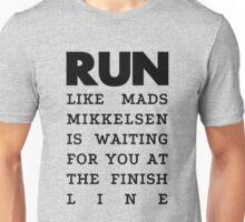 RUN - Mads Mikkelsen  Unisex T-Shirt