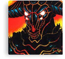 Capra Demon from game Dark Souls Canvas Print