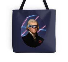 Cyclops + Thomas Jefferson Mash Up Tote Bag