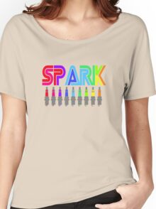 SPARK colour Women's Relaxed Fit T-Shirt