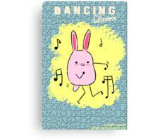 Dancing Machine Canvas Print