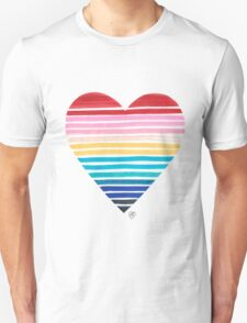 Big Heart Rainbow T-Shirt