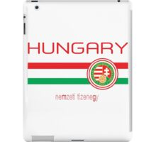 Euro 2016 - Hungary (Away White) iPad Case/Skin