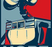 Trust in Wall-e  by BGWdesigns