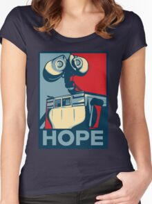 Trust in Wall-e  Women's Fitted Scoop T-Shirt