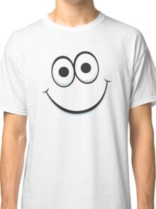 Happy cartoon face Classic T-Shirt