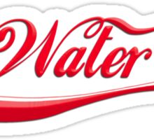 Drink Water (white) Sticker