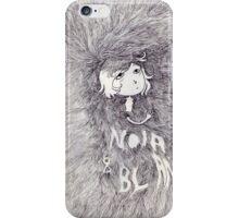 Noir & blanc iPhone Case/Skin
