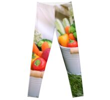 fresh Vegetable snacks Leggings